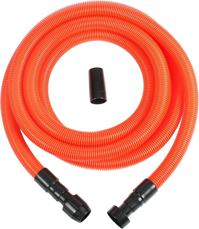 Cen-Tec Systems 39332 Vacuum Hose for Power Tools, 20 feet, orange