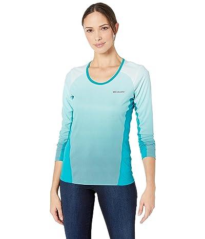 Columbia Solar Chilltm 2.0 Long Sleeve Shirt (Modern Turquoise) Women