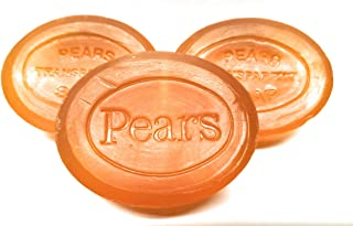 Pears Transparent Glycerin Bar Soap 3.5 Oz Each (3 Pack)