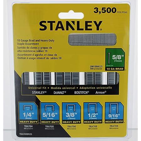 Stanley, TRA700BN35, Staple/Brad Asst, Narrow, 27/64, PK3500