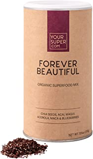 Sponsored Ad - Your Super Forever Beautiful Superfood Mix - Plant Based Powder - Skin, Hair Health, Natural Collagen, Acai...