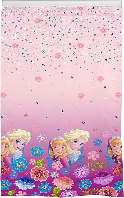 Franco Frozen Kids Room Darkening Window Curtain Panel 42 X 63 Pink Disney