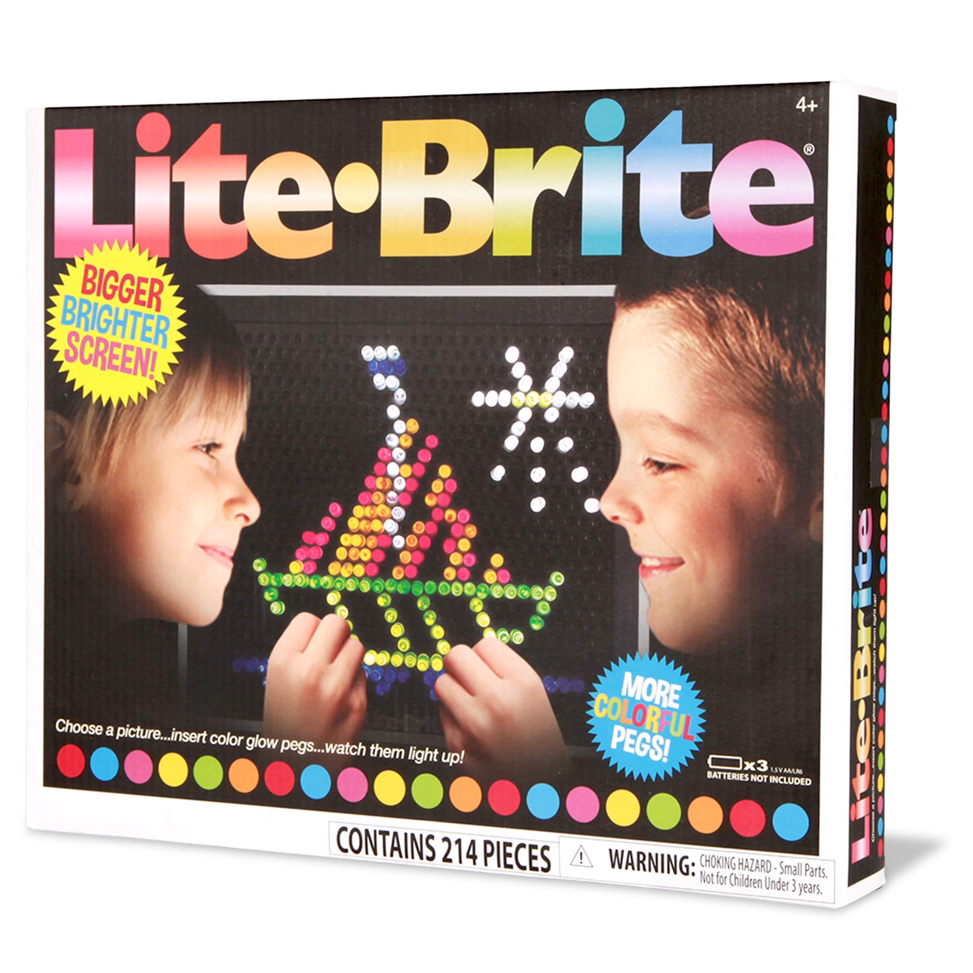 El Puente Direct Lite Brite Magic visualización (estilo retro) Juguete