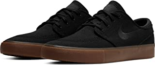 Nike Men's SB Zoom Stefan Janoski Skate Shoes Black/Black-Gum Light Brown 9