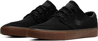 Men's SB Zoom Stefan Janoski Skate Shoes Black/Black-Gum Light Brown 10.5