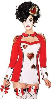 Women's 3 Piece Card Guard Costume