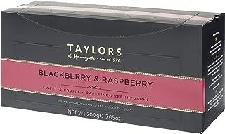 Taylors of Harrogate Blackberry & Raspberry Herbal Tea, 100 Count (Pack of 1)