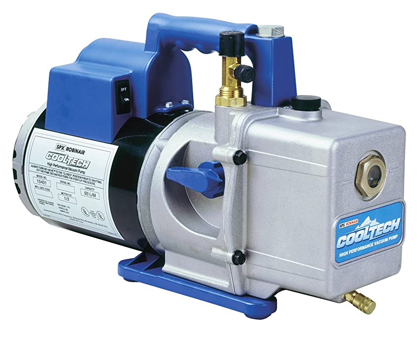 Robinair (15401) CoolTech Vacuum Pump - 2-Stage, 93 liters/minute