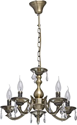 FGHOME American Vintage industrie Loft style Iron art lustre restaurant Caf/é long Round table guerrier bougie lampes suspendues