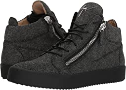 Giuseppe Zanotti May London Glitter Mid Top Sneaker