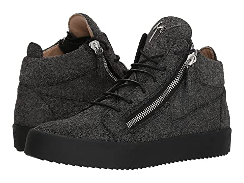 667e13f9dd7f55 Zanotti Sneaker Top London Giuseppe Mid Glitter May pqdwUd