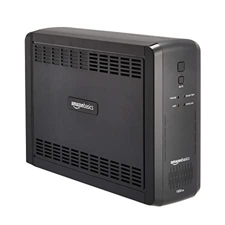 Amazon Basics Line-Interactive UPS 1500VA 900 Watt, 10 Outlets