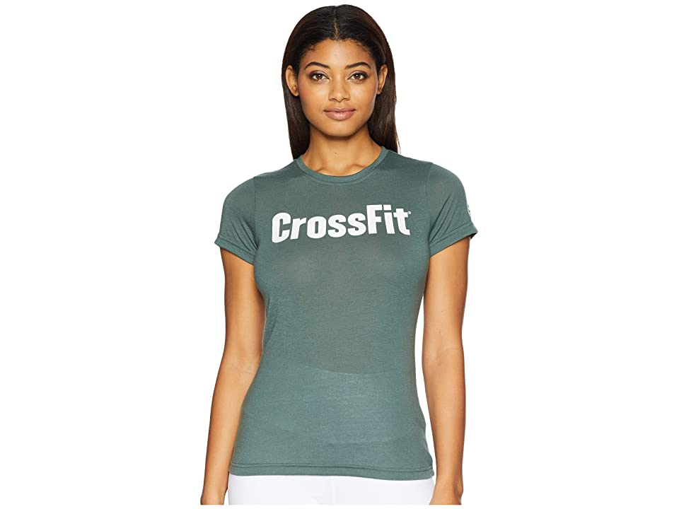 Reebok FEF Speedwick New T-Shirt (Chalk Green) Women
