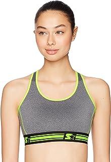 STARTER Women's Medium Impact Racerback Sports Bra, Amazon Exclusive