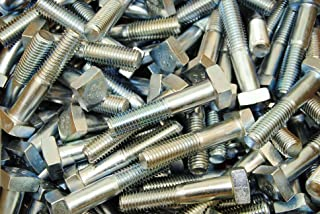 PT A307 Grade A Square Head Machine Bolt Low Carbon Steel Zinc Plated Pk 100 5//16-18 x 2 1//2