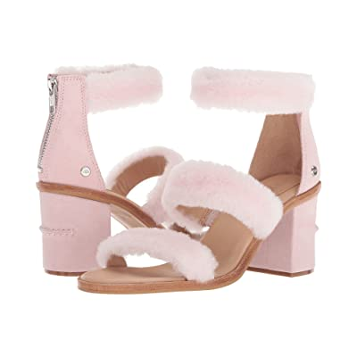 UGG Del Rey Fluff Heel (Seashell Pink) High Heels