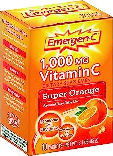 Emergen-C Supr Orange 10 Size 10ct