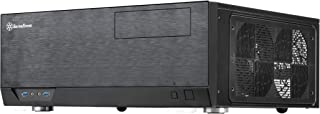 SilverStone SST-GD09B - Grandia HTPC ATX Carcasa de ordenador, Rendimiento silencioso con alto flujo de aire, negro