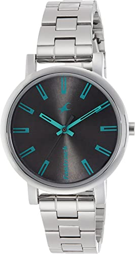 Fastrack Fundamentals Analog Grey Dial Women's Watch -NM68010SM04 / NL68010SM04