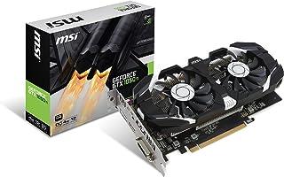 Msi Geforce GTX 1050 Ti 4GT OC Tarjeta Gráfica Pro, Negro/