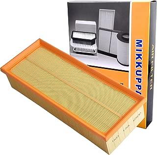 MIKKUPPA KQ044 Premium Engine Air Filter, Fits VW Jetta, Passat, GTI, CC, EOS, Audi A3, Q3, TT - Replacement 1K0129620D
