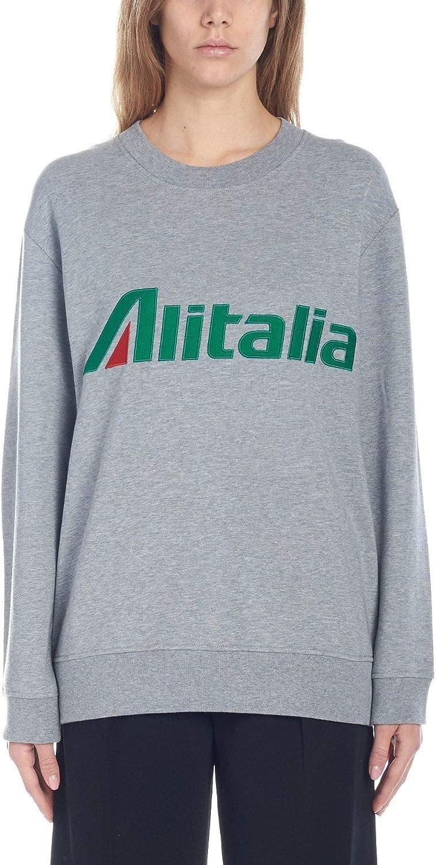 Alberta Ferretti Damen J170116730473 Grau Baumwolle Sweatshirt