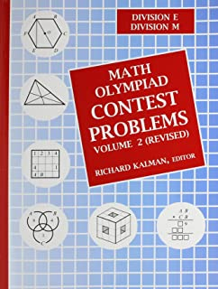 Math Olympiad Contest Problems, Volume 2 (REVISED)