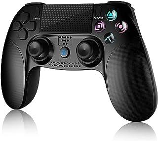 Controlador para PS4, controlador sem fio Gamory para Playstation 4 / PS4 Pro / Slim, com vibração dupla, alto-falante e c...