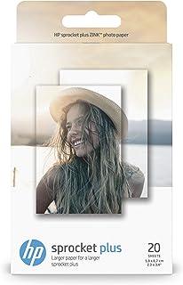 HP Sprocket Plus Papeles Fotográficos Térmica 5.8 x 8.7 cm Blanco