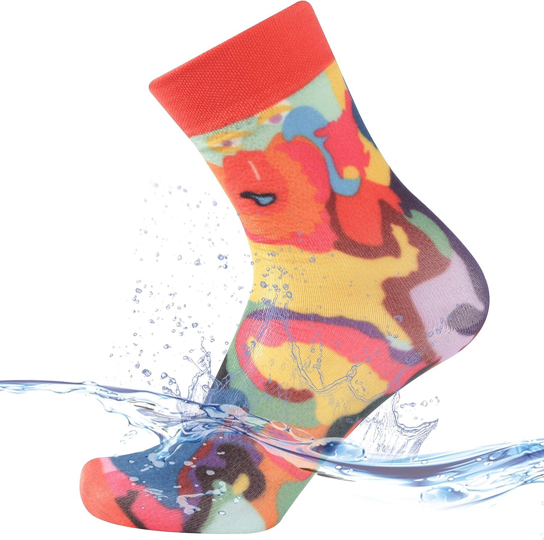SuMade 100% Virginia Beach Mall Waterproof Socks Men Breathable Women Hiking Kayaki OFFicial store