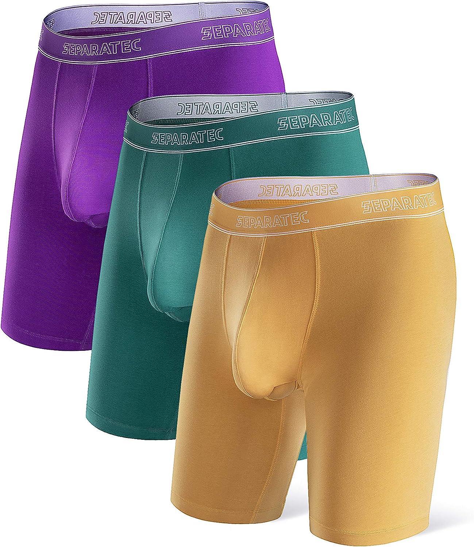 Separatec Men's Dual Pouch Underwear Micro Modal 8