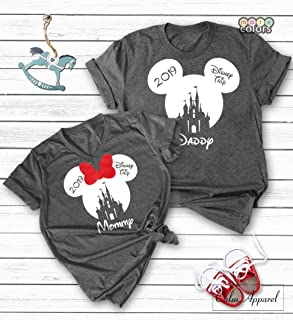 1ec02b5cc93a Custom Family Vacation Shirts, Minnie Mickey Mouse Tank Tops, Women Men  Youth Matching T