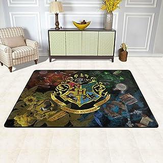 H-a-rry P-Otter-H-o-g-Warts School Floor Mat Non Slip Carpet Durable Bath Rugs Fashion Floor Mat Not Fade Bath Carpet for ...