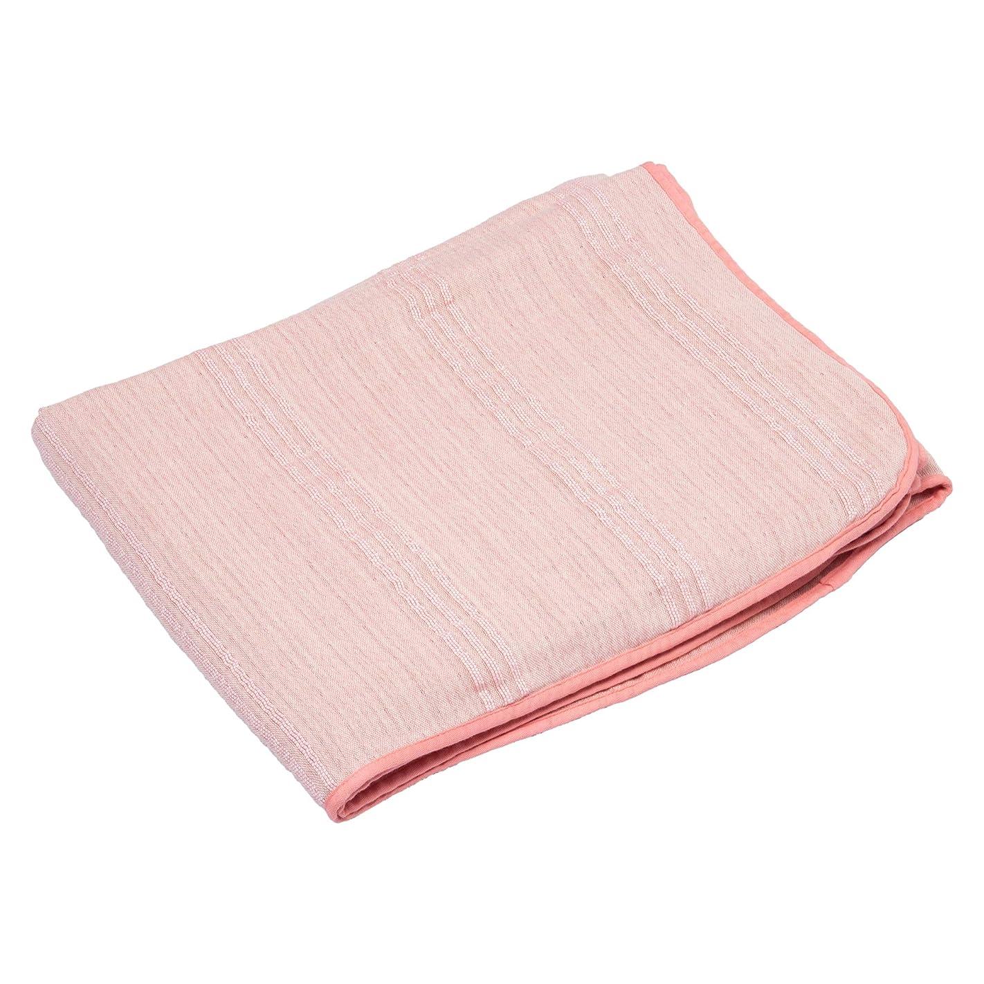 主流協定ハウジング西川(Nishikawa) ガーゼケット ピンク シングル ウール混 洗える ふっくら やわらか3重ガーゼ さらおり FR09803001P