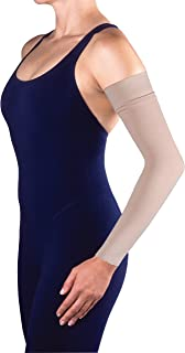 Jobst Bella Lite 20-30 mmHg Compression Arm Sleeve w/ Silicone Beige Medium Long