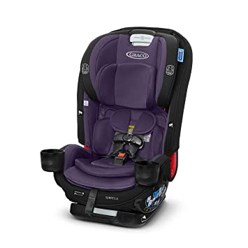 Graco SlimFit3 LX 3 in 1 Car Seat | Space Saving Car Seat Fits 3 Across in Your Back Seat, Katrina: image