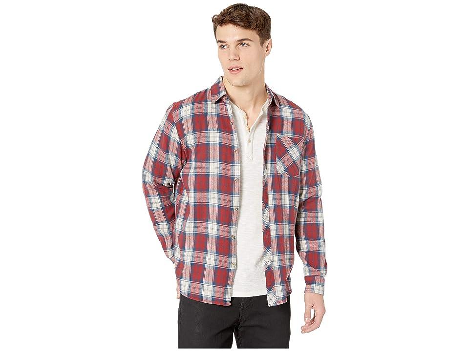 Rip Curl Holmes Flannel Shirt (Off-White) Men