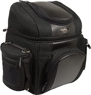 Milwaukee Leather SH682-BLK-PCS Black Medium Nylon 1200D Sissy Bar Bag