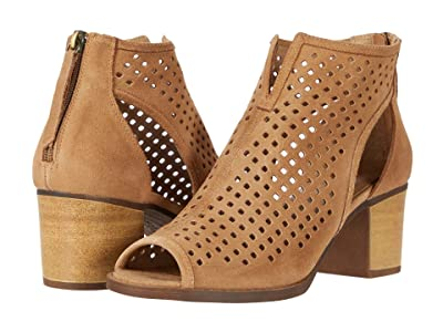 Dirty Laundry Tessa Peep Toe Bootie (Camel) Women