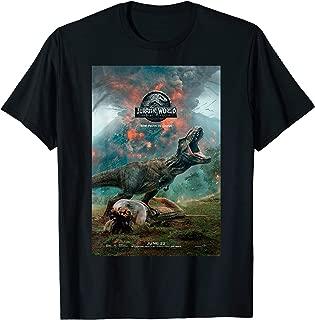 Jurassic World: Fallen Kingdom T-Rex Poster Graphic T-Shirt