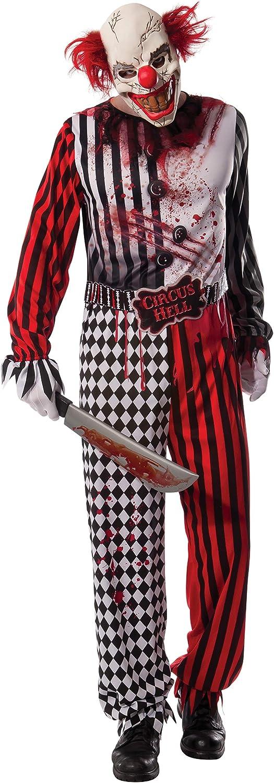 cheap Rubie's Men's Evil Clown Costume discount