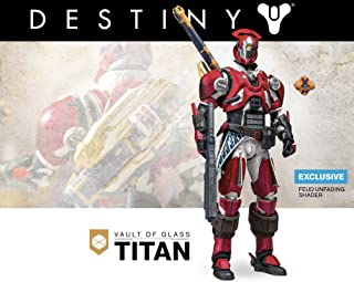 Destiny McFarlane Toys Vault of Glass Titan Feud Unfading Shader Action Figure