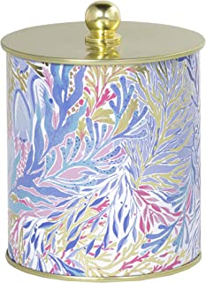 Lilly Pulitzer Large Scented Jar Candle with Lid, 10.5 Ounce (Kaleidoscope Coral)
