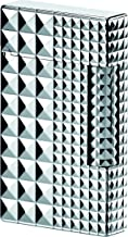 S.T. Dupont Palladium Line 2 Lighter - Diamond heads