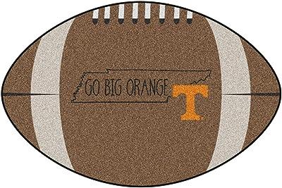 quality design ec319 96f43 NCAA University of Tennessee Volunteers Football Shaped Mat Area Rug