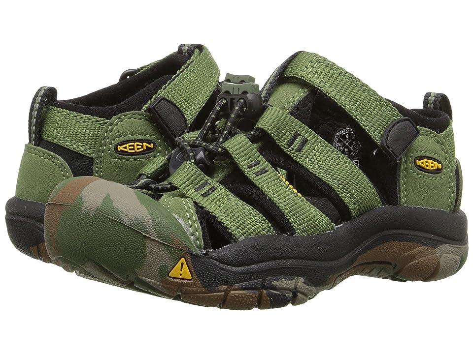 Keen Kids Newport H2 (Toddler/Little Kid) (Crushed Bronze Green) Boys Shoes