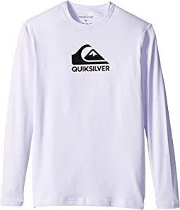 Quiksilver Kids Solid Streak Long Sleeve Rashguard (Big Kids)