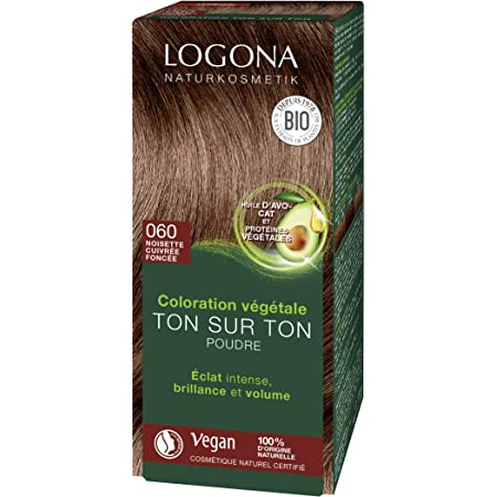 LOGONA Naturkosmetik - Tinte para el cabello en polvo 060 de ...