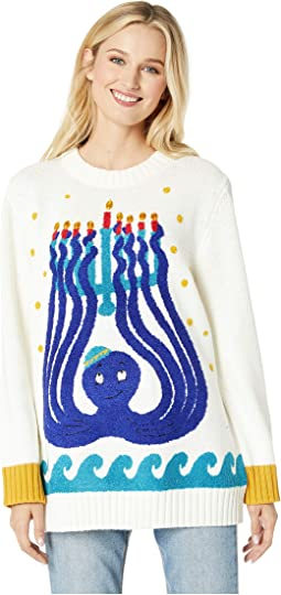 Octopus Menorah Sweater