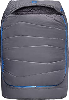 Kelty Tru.Comfort Doublewide 20 Degree Sleeping Bag – Two Person Synthetic Camping Sleeping Bag for Couples & Family Camping
